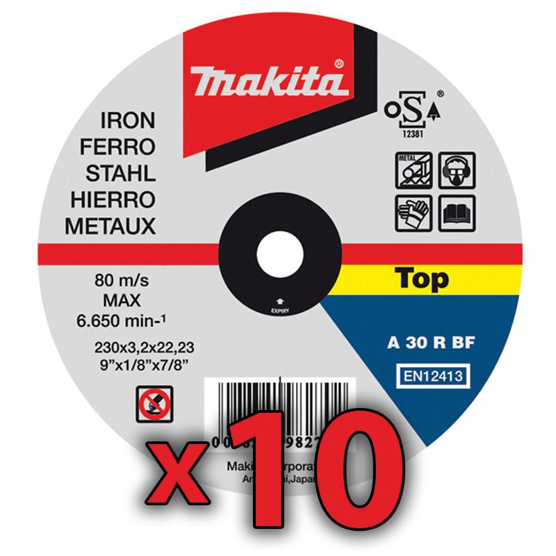 Disco Corte Metal 115 x 1 mm 10 Unidades Accesorios