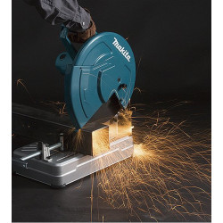 Tronzador Abrasivo 355mm 2.200W LW1400 + 5 Discos de corte metal Tronzadoras