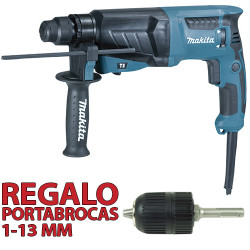 Martillo Ligero 3 modos 800W HR2630 + Portabrocas Automático Martillos Ligeros