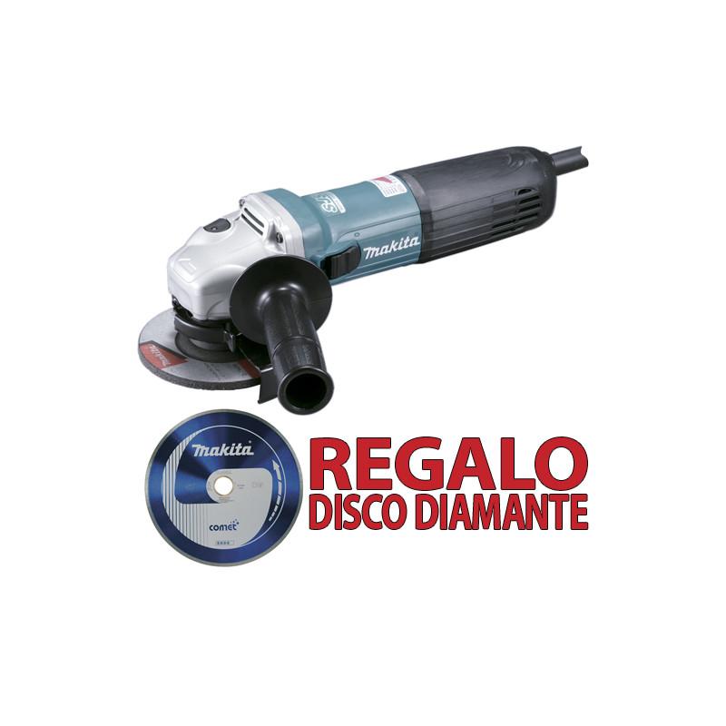 Amoladora 115mm 1.100W SAR GA4540RZ + Disco Diamante B13085 115 mm
