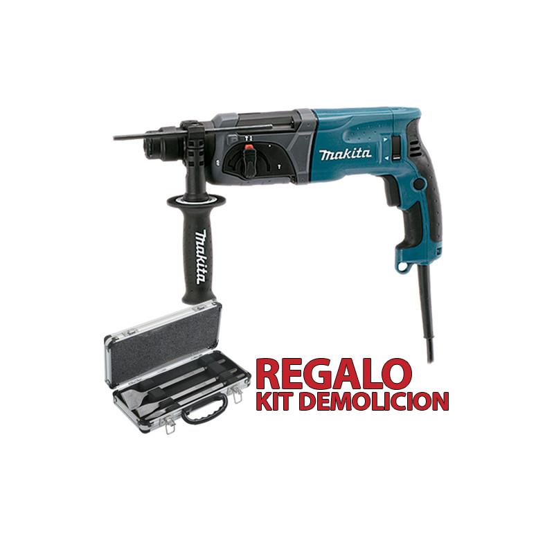 Martillo Ligero 3 Modos 780W HR2470 + Kit Demolición Martillos Ligeros