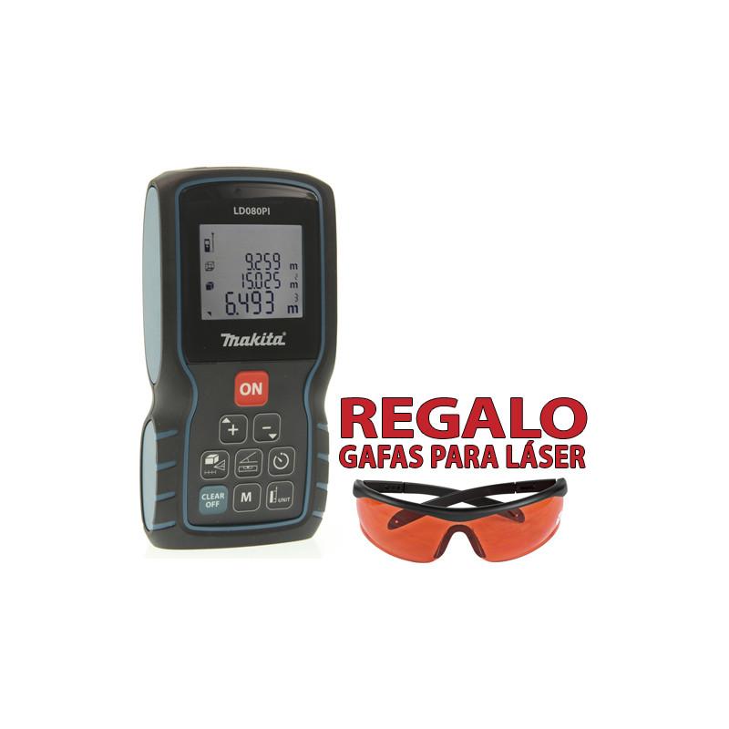 Medidor Láser 80M LD080PI Medidores