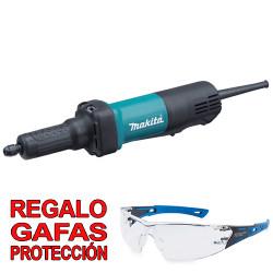 Amoladora Recta 400W 6mm 25.000R.p.m. GD0600 + Gafas Protección Rectas