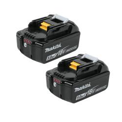 Taladro Combinado 18V 91Nm 2 Baterías 5.0Ah DHP458RTJ + Juego Puntas + Adaptador 18V