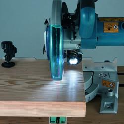 Ingletadora Telescópica Láser 216mm 1.400W LS0815FL + Regalo Torniquetes Automáticos Ingletadoras