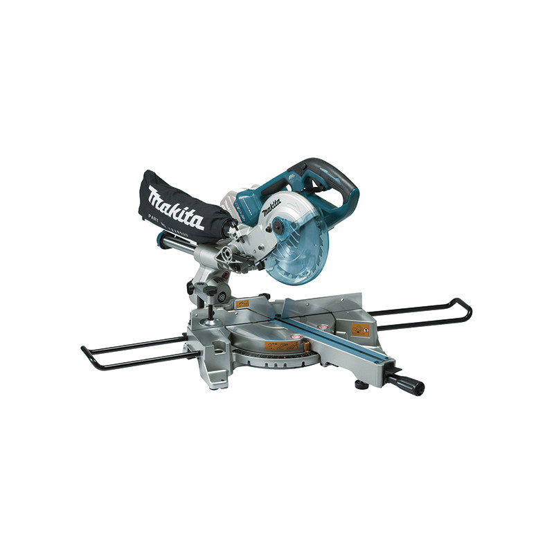 Ingletadora Telescópica 2x18V 190mm BL DLS714Z + Regalo Tornillos Automáticos 450mm Ingletadoras